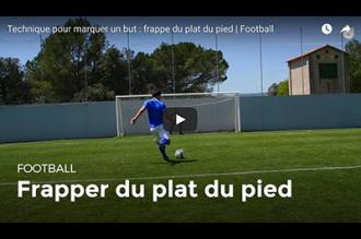 Sidefooting the ball