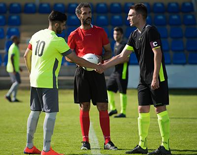 The football referee