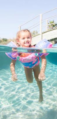 bébé nageur bouée brassards