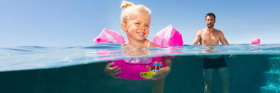 Brassard évolutif tiswim bébé piscine