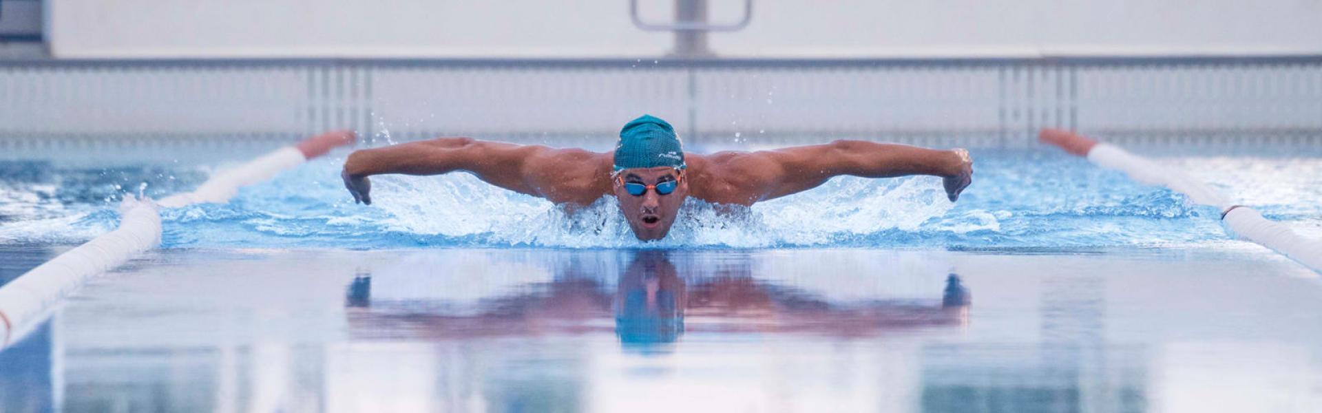 lunettes de natation piscine