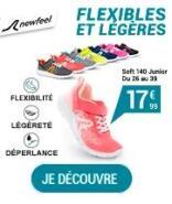 Chaussures de marche active enfant Soft 140 - Flexibles et légères