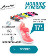 Scarpe camminata attiva bambina Soft140 - Flessibili e leggere