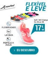 Calçado de marcha ativa Soft 140 criança - Flexíveis e leves