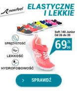 Buty do chodu sportowego Soft 140 dla dzieci - Giętkie i lekkie