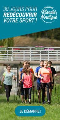 Redécouvrez votre sport avec le challenge Marche Nordique