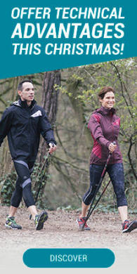 Offre technical advantages to nordic walkers this christmas