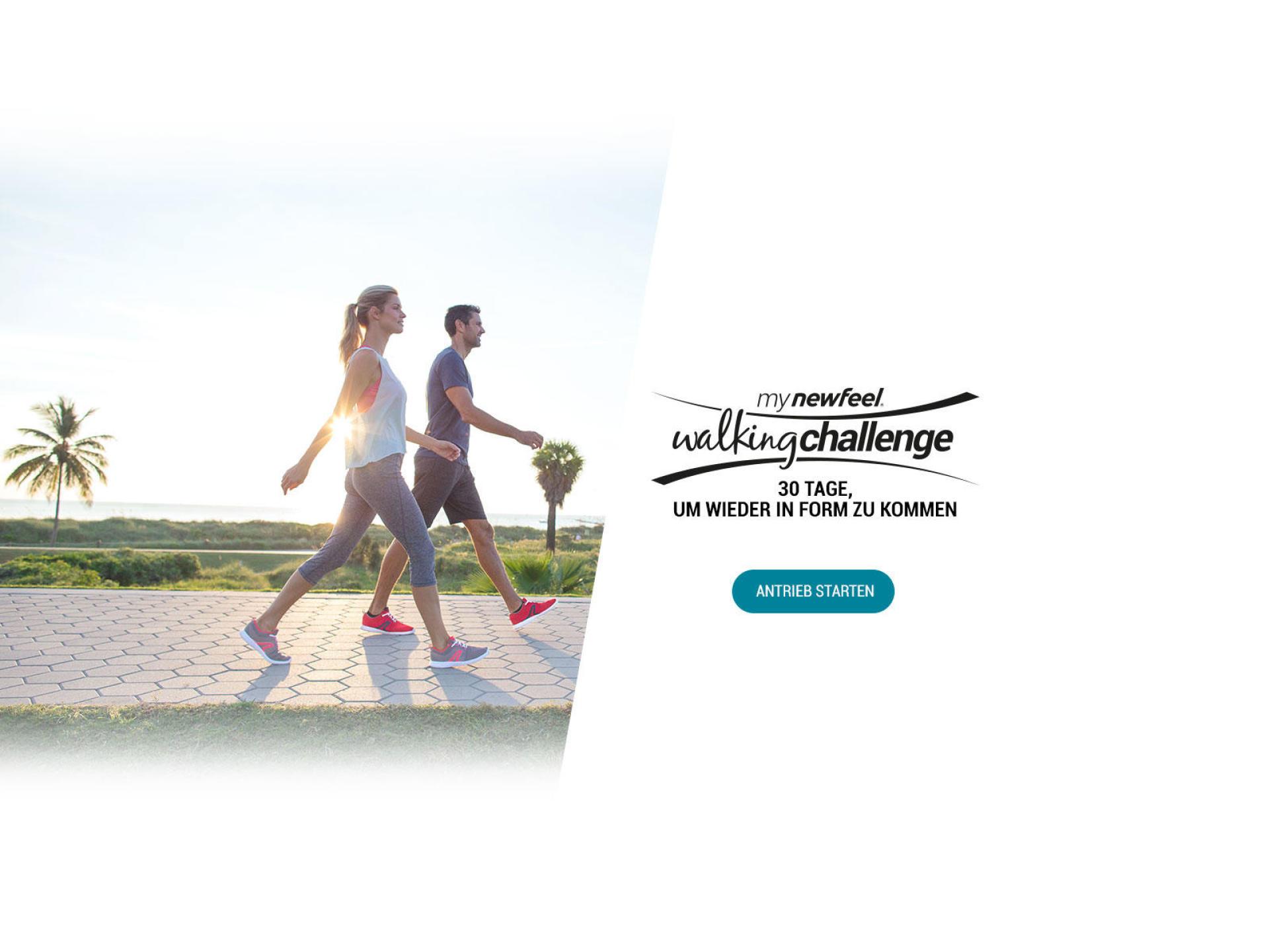 My Newfeel Walking Challenge - 30 Tage, um wieder in Form zu kommen