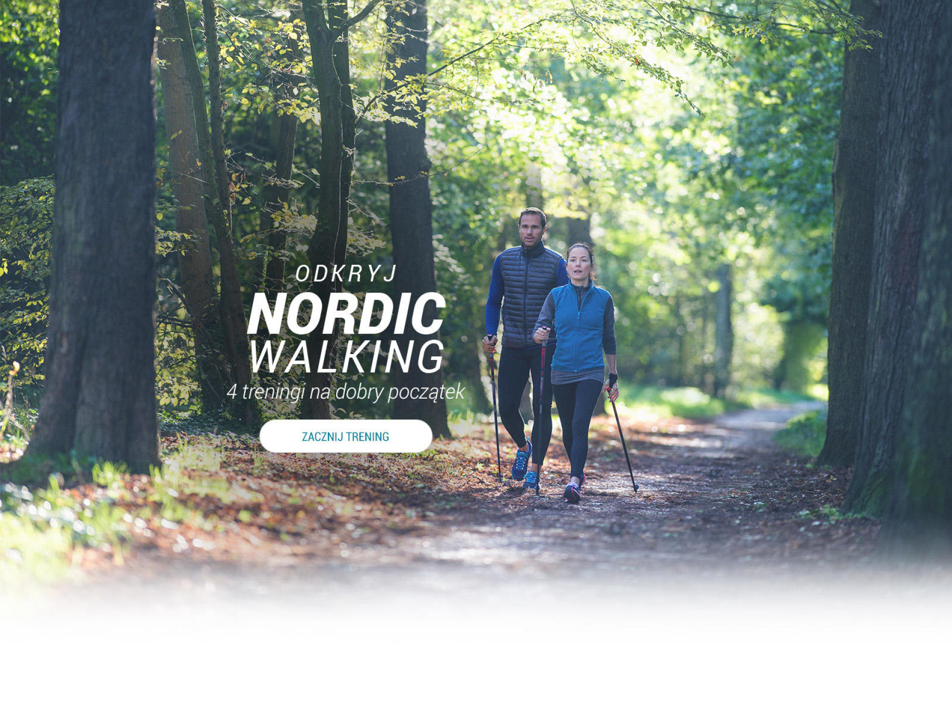 ODKRYJ NORDIC WALKING - 4 treningi na dobry początek
