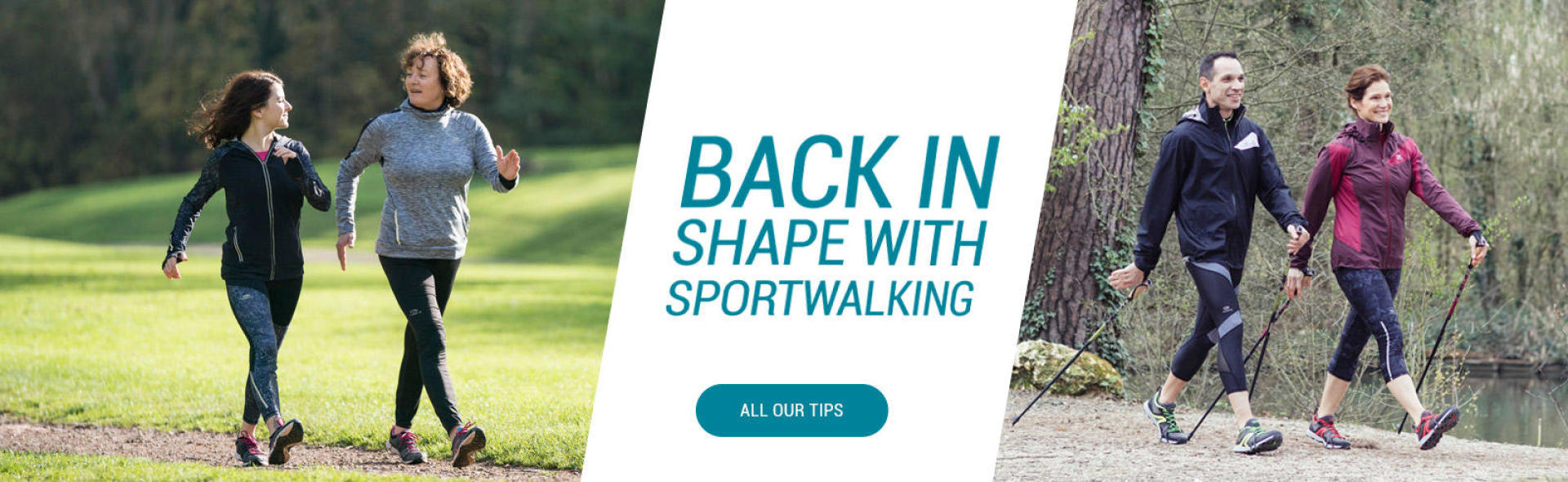 Back in shape with sportwalking