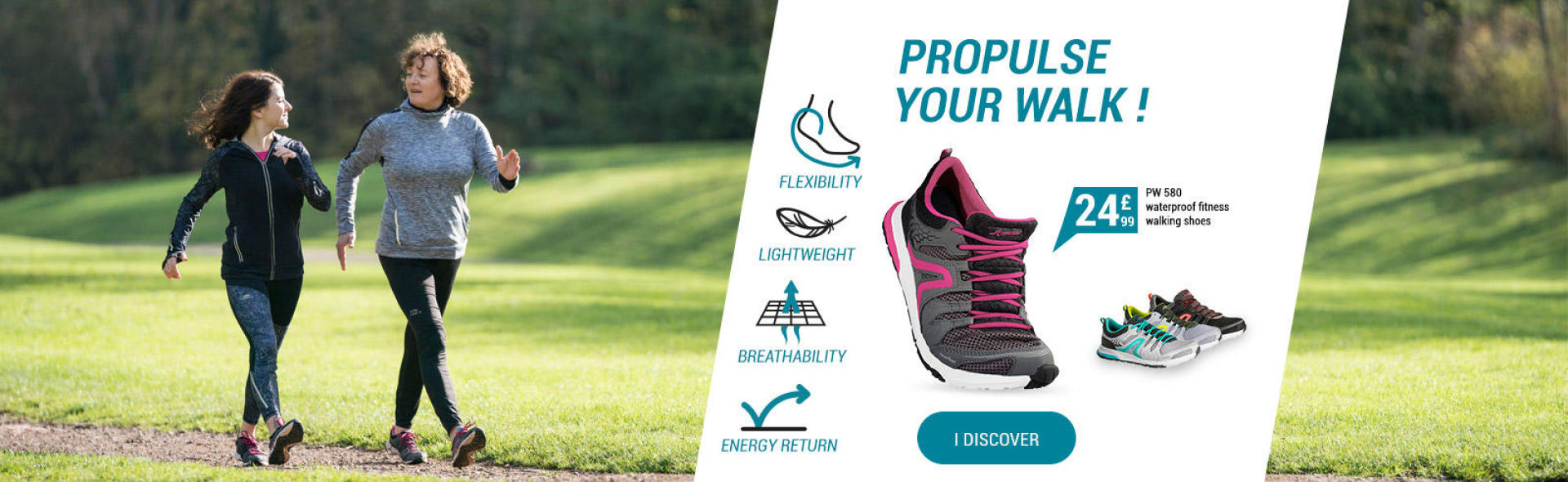 Propulse your walk