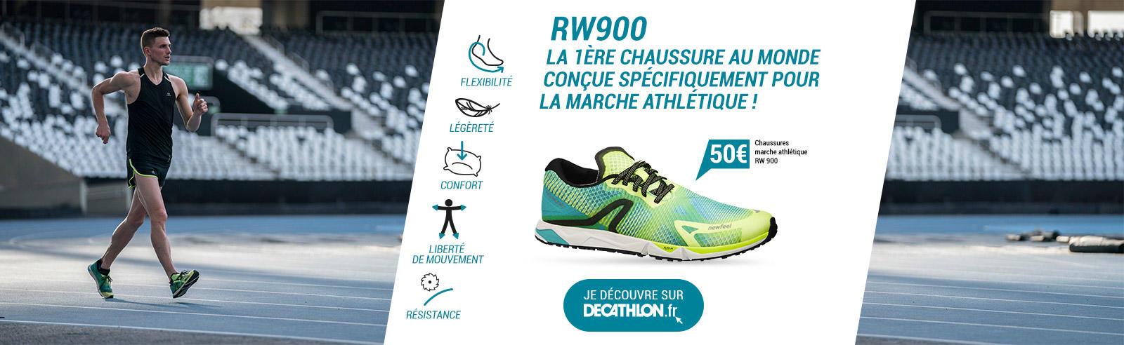 Newfeel RW900 la première chaussure au monde conçue pour la marche athlétique