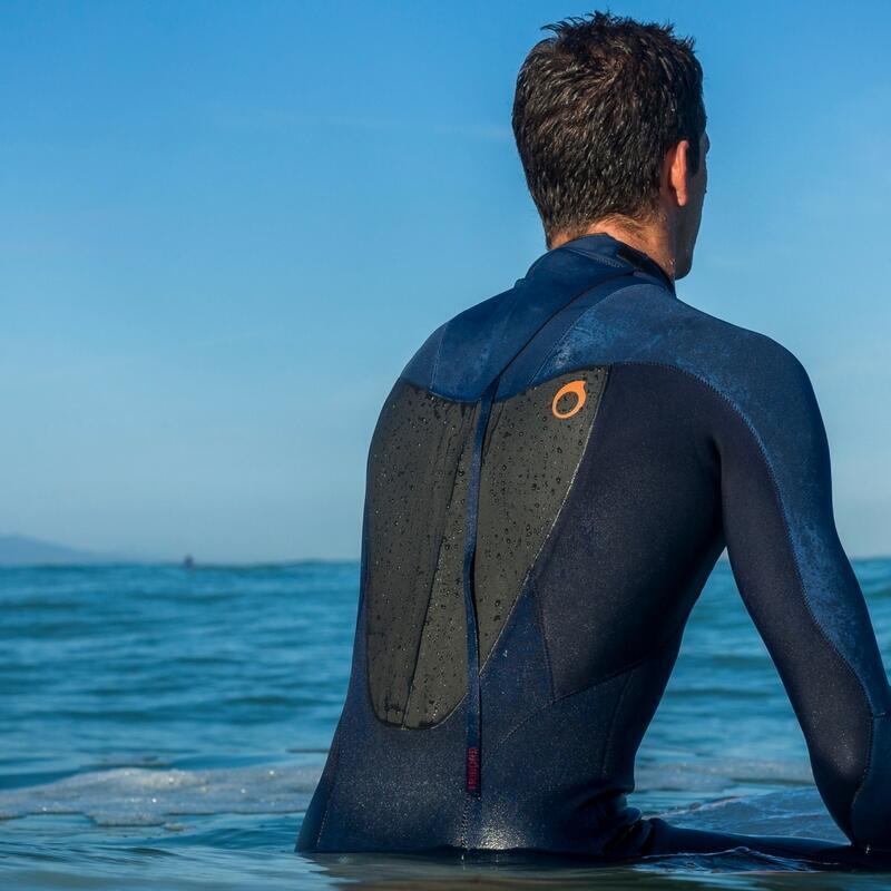 combinaison néoprène de surf front zip versus back zip