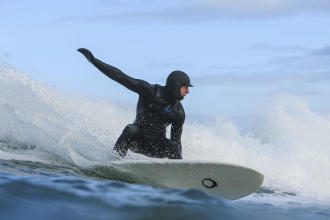 surfer cagoule néoprène hiver