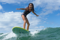 apprendre a son enfant a surfer