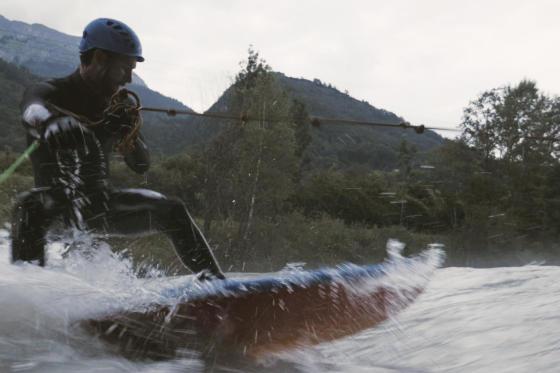 Le surf en rivière