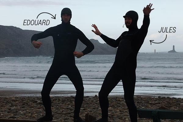 mission test surf combinaison néoprène intégrale