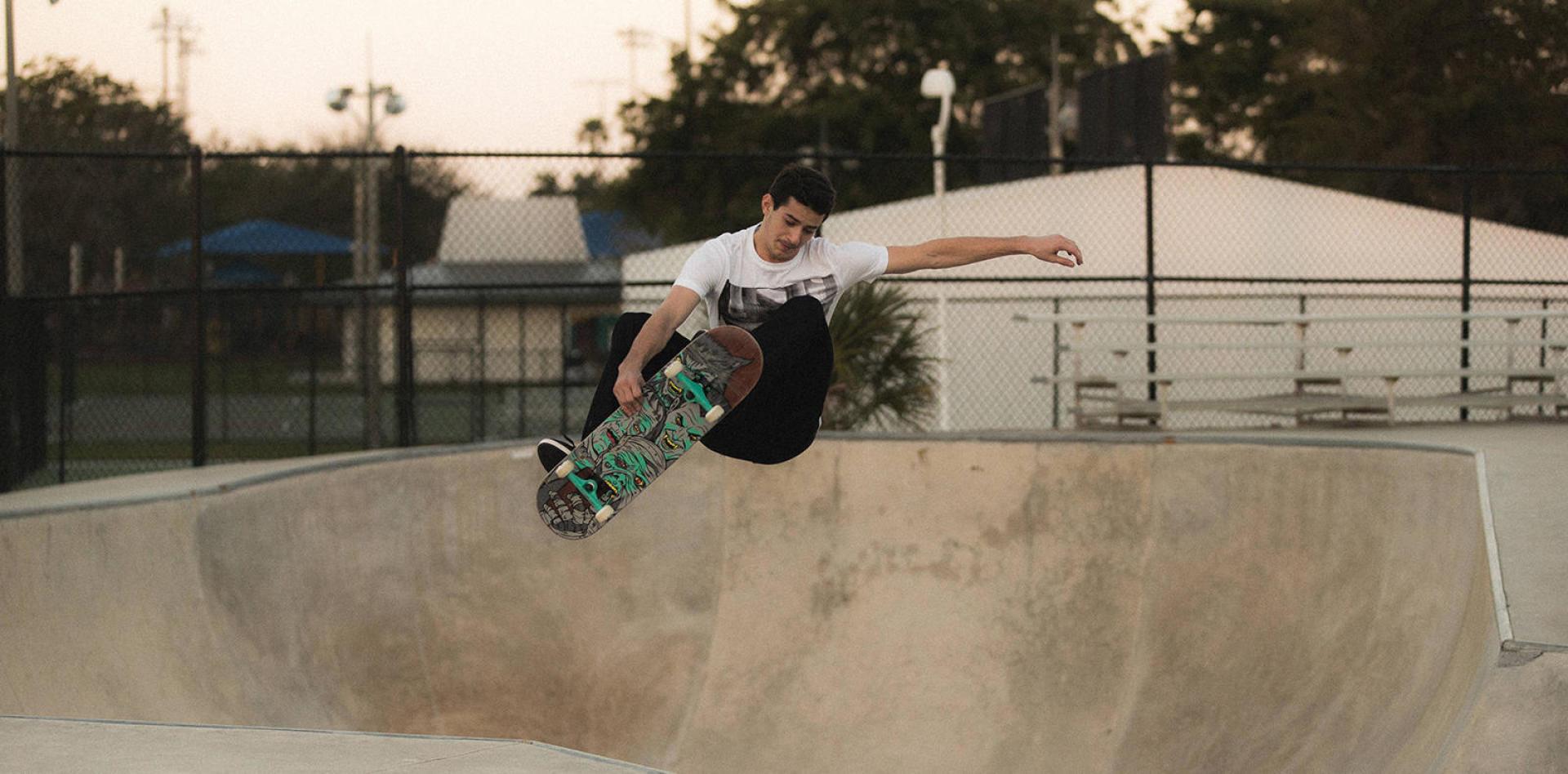 Apprendre à faire du skate
