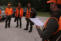 Planning a drive hunt