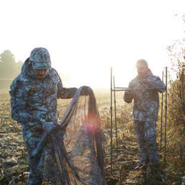 setting up your hunting hide