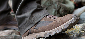 footwear hunting breathable dry weather