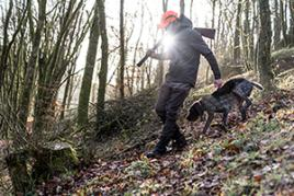 solognac waterproof clothing for hunting in woods