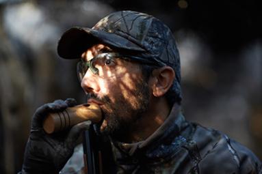 chasser en palombière