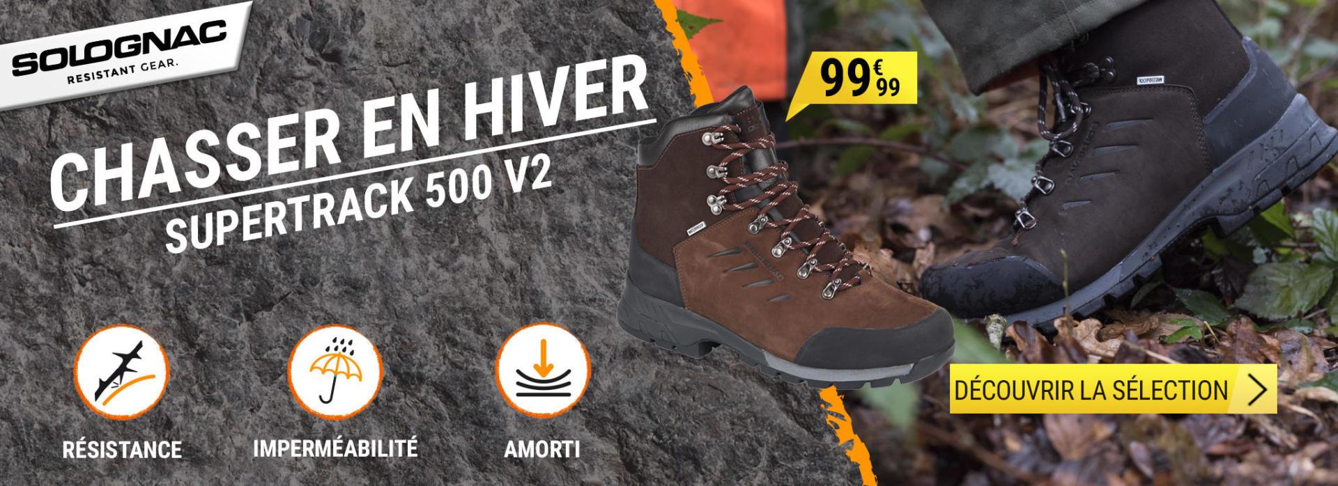 Découvrez notre sélection de produits pour chasser confortablement tout l'hiver.