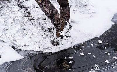 chasser sous la neige - Solognac