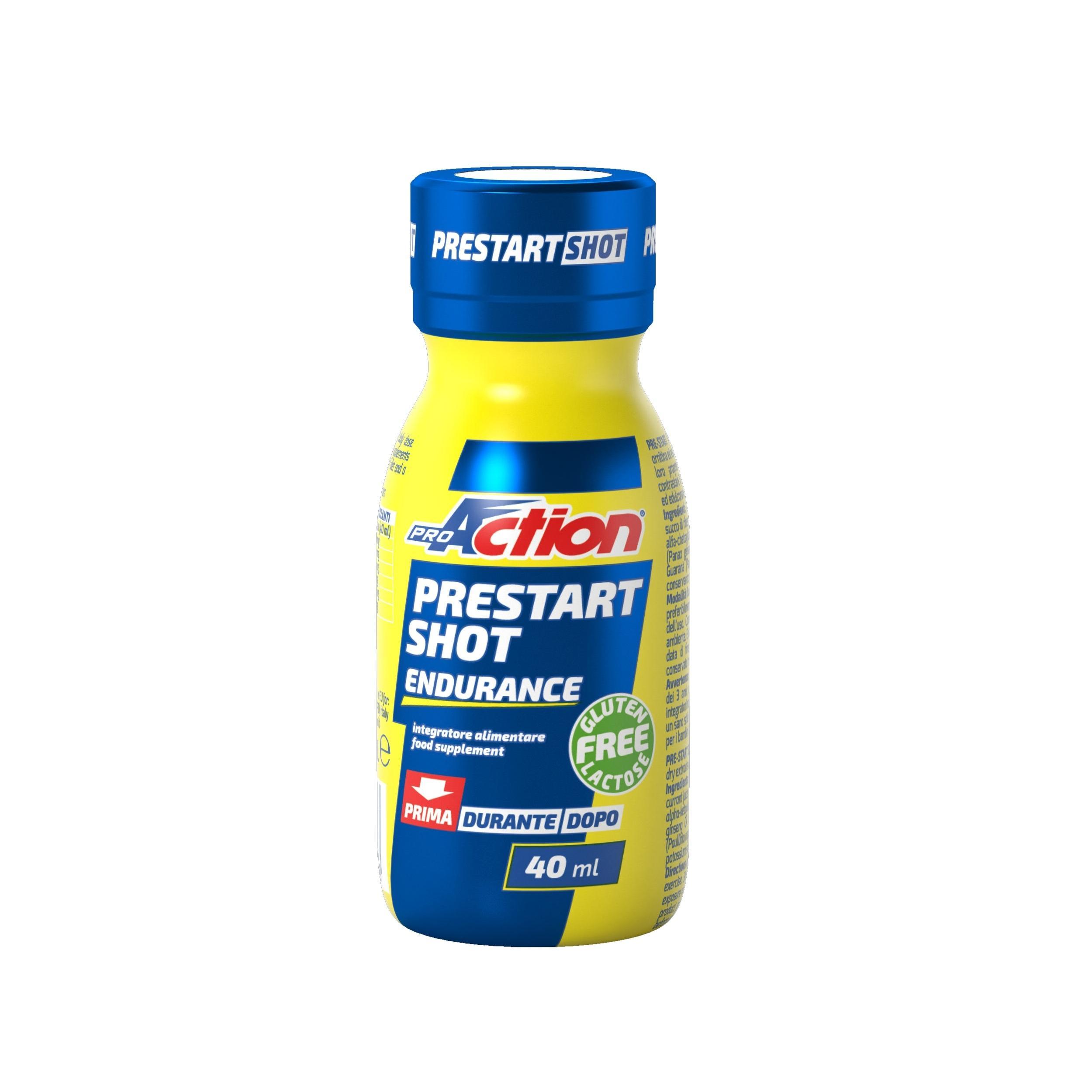 PROACTION. Prestart Shot Endurance Gluten Free 40 ml Proaction