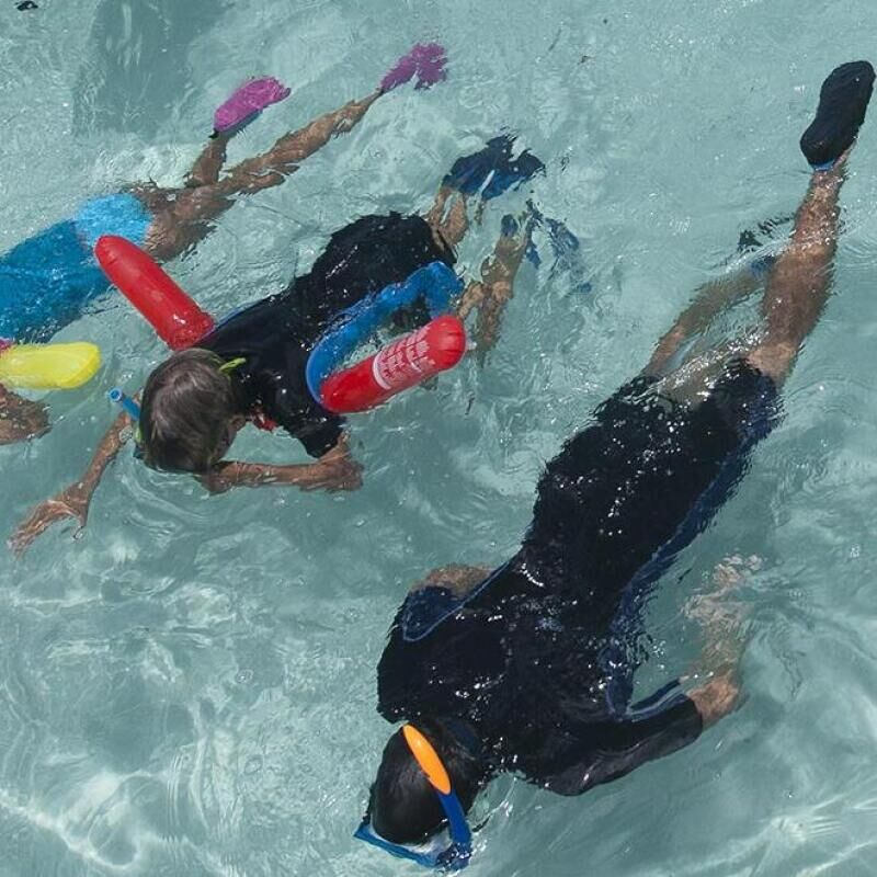 conseil apport flottabilité snorkeling subea