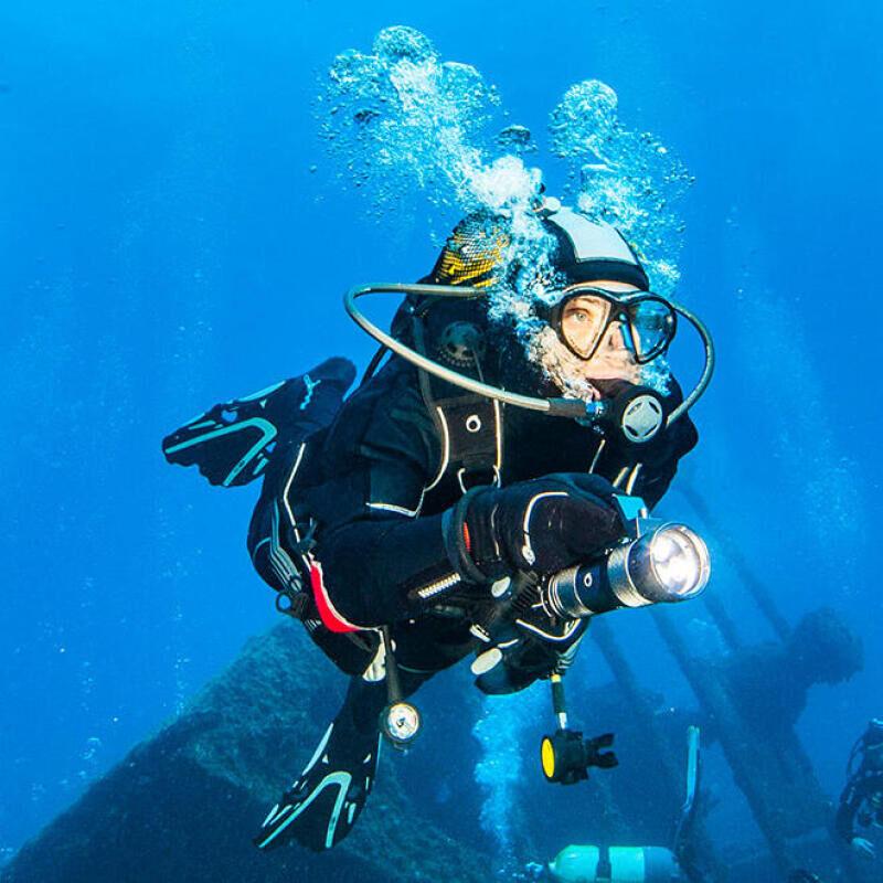 conseil astuces lutter contre le froid plongée sous marine subea épave méditerranée le spahis