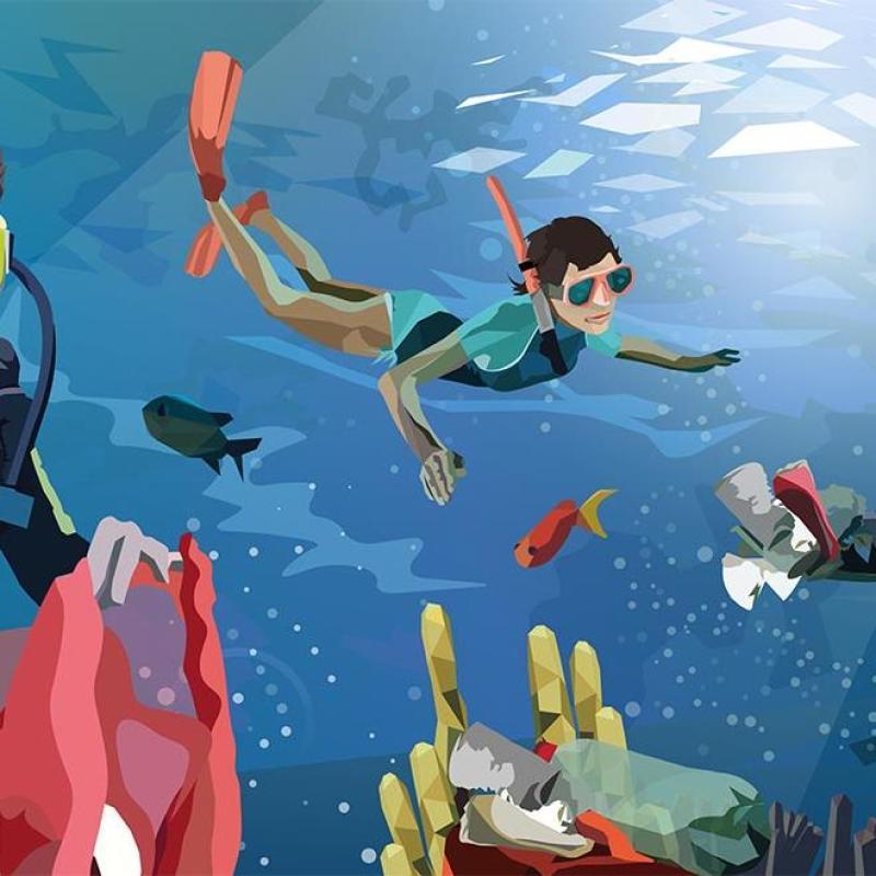subea days nettoyage fonds marins hendaye