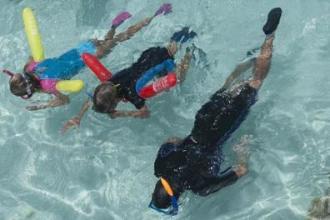 snorkeling apport flottabilité subea