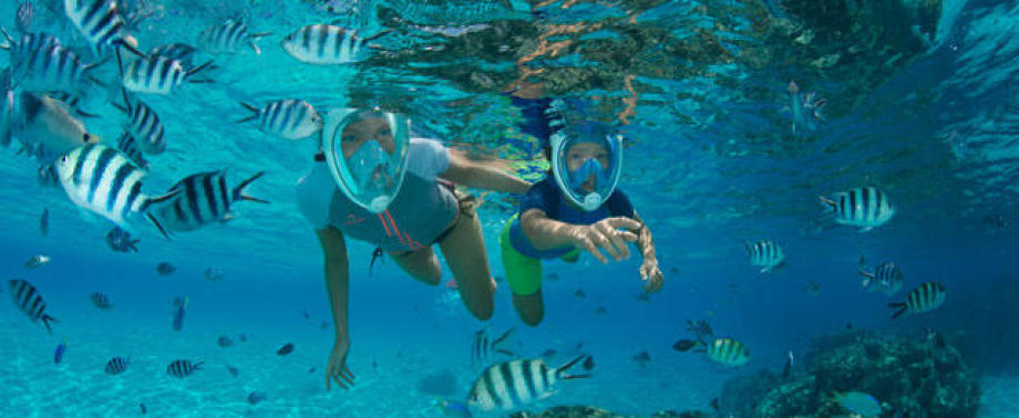 industrialisation masque snorkeling easybreath subea