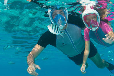 article magazine subaqua test masque easybreath subea