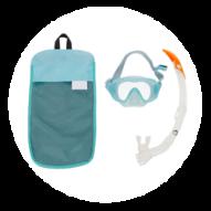 kit snorkeling masque tuba subea