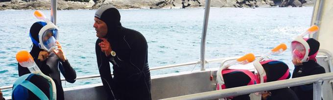 planet ocean initiation snorkeling enfants