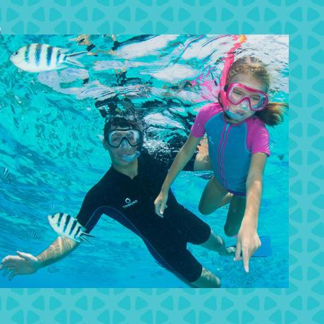 conseil snorkeling apport flottabilite subea