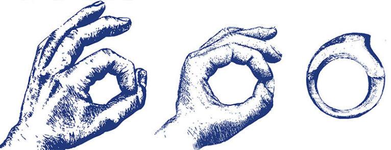 Signe ok plongée main Subea logo
