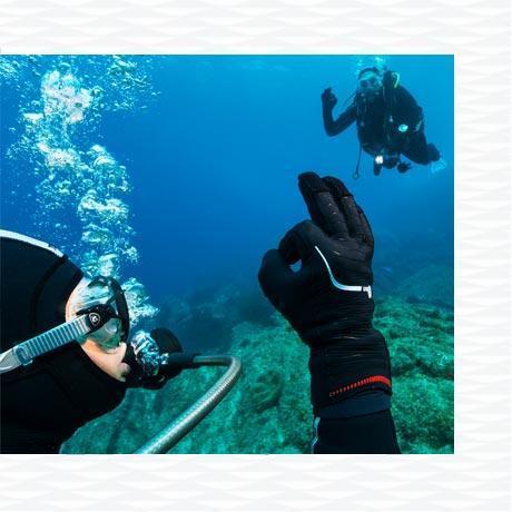 conseil comment choisir gants plongée sous marine subea