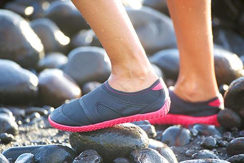 conseil bien utiliser aquashoes chaussures aquatiques subea
