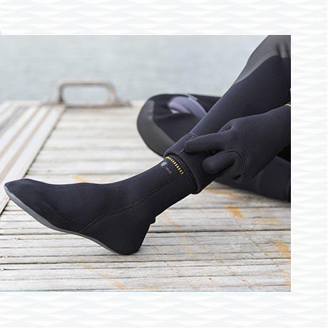 conseil comment choisir chaussons bottillons plongée sous marine subea