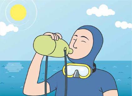 conseils sécurité plongée sous marine dan europe hydratation subea