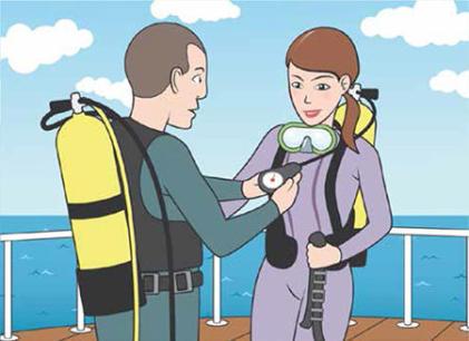 conseils sécurité plongée sous marine dan europe vérifier matériel subea