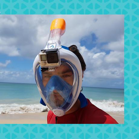 conseil snorkeling filmer masque easybreath subea