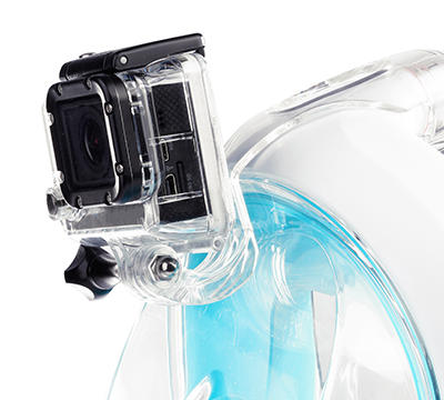 conseil snorkeling filmer masque easybreath attache caméra subea
