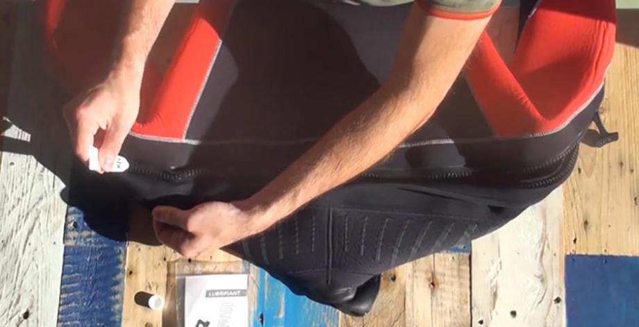 conseil utiliser combinaison plongée semi étanche entretien graisser zip subea
