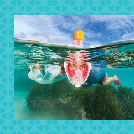 conseil choisir équipement snorkeling randonnée palmée tuba subea