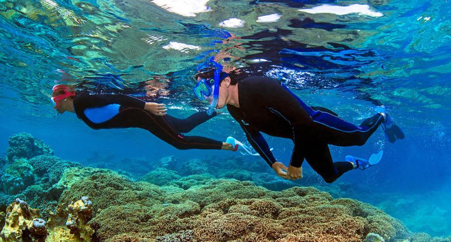 conseil choisir équipement snorkeling randonnée palmée palmes masque tuba protection solaire subea